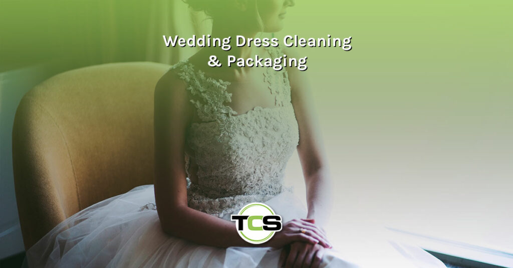 Wedding Dress Cleaning & Packaging